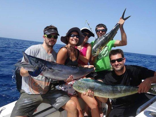 Madatet Fishing: Résultat d'une bonne journée de pêche!