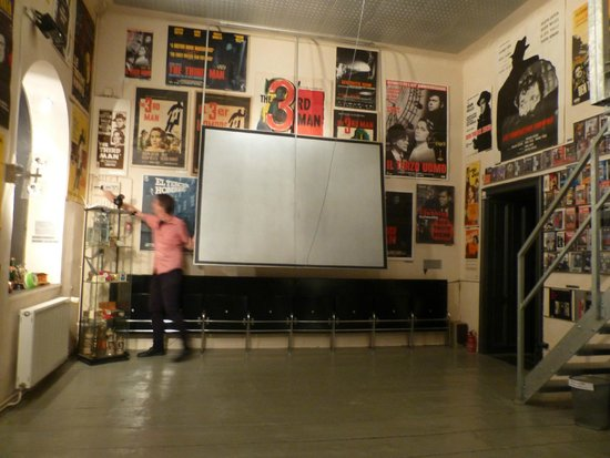 The Third Man Museum: One of several parts of the museum