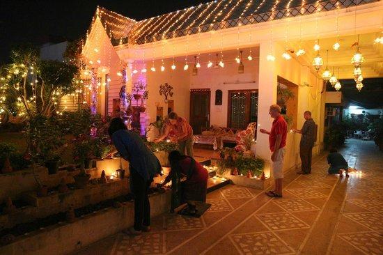 All Seasons Homestay Jaipur : All Seasons during Diwali