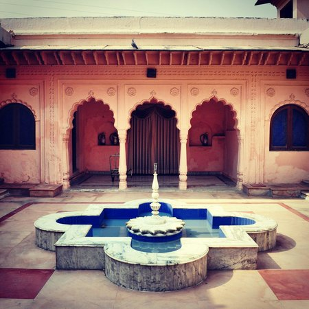 The Bagh : The fountain