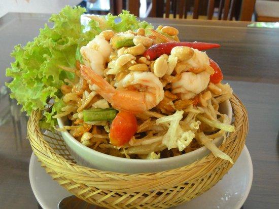 Lai Thai: 絶品 揚げソムタム