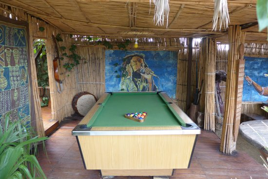 Lebo's Soweto Backpackers: Pool table