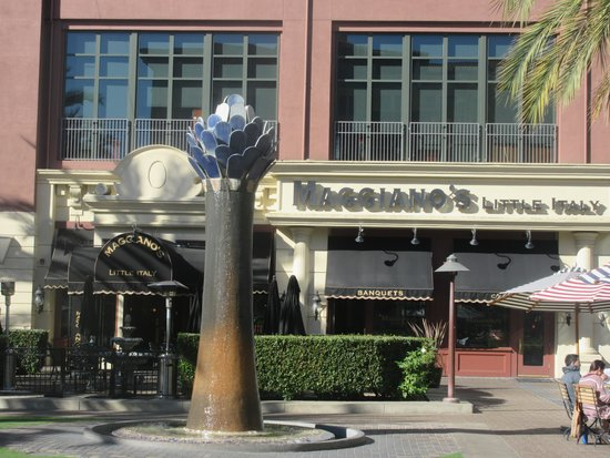 Maggiano S Little Italy Santana Row Private Room