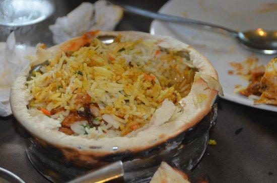 Ritz Classic Restaurant and Bar: Fish biryani