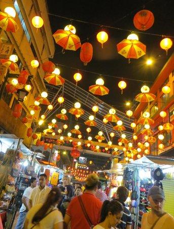 Petaling Street: the entrance