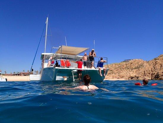 Rissalena Cruises: nice size catamaran