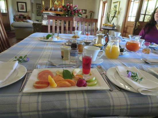 Rouxwil Country House: Breakfast