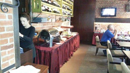 Hotel Artus: frokostbuffe