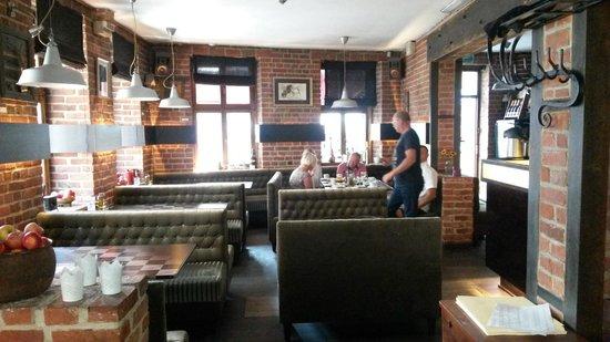 Hotel Artus: resturangren hvor vi spiste frokost