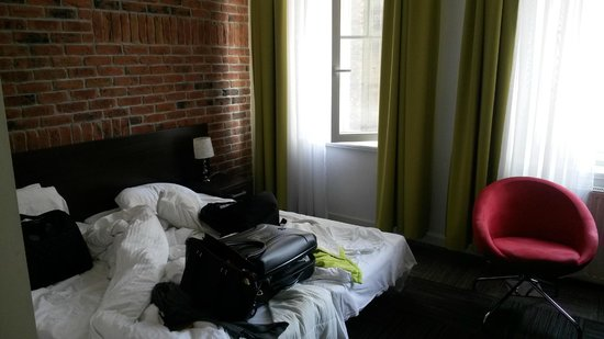 Hotel Artus: rommet vårt