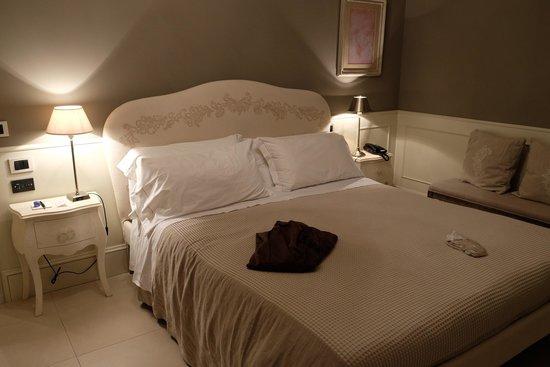 Relais Villa Vittoria: Bed