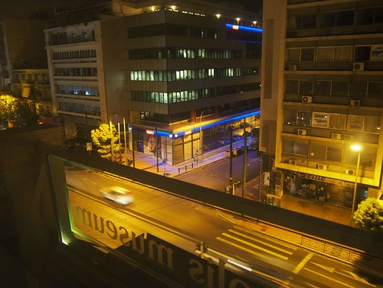 Acropolis Museum Boutique Hotel: View from my window