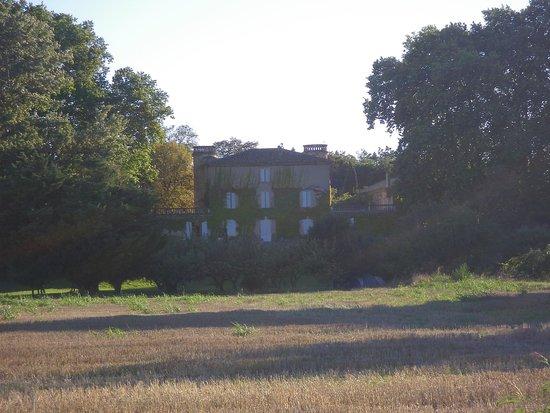 Domaine de Lamartine : La façade est