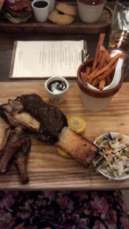The Mundy Arms: beef rib