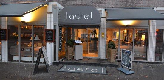 Restaurant Taste!: ingang