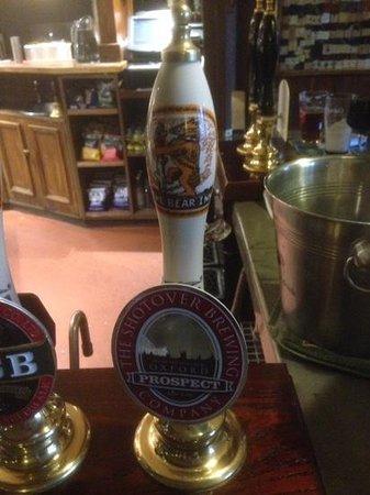 The Bear Inn: Enjoyable range of beers