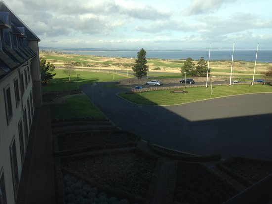Fairmont St Andrews : View from room 3072