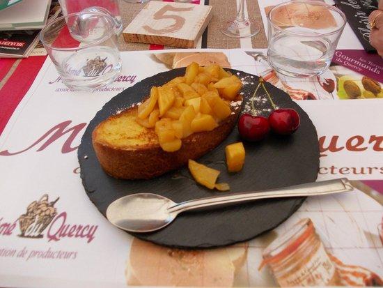 Mémé du Quercy : Brioche-perdu aux pommes caramélisées, délicieux !!