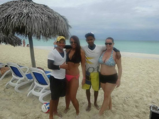 Memories Paraiso Beach Resort Carlos And Alex My Cuban Brothers