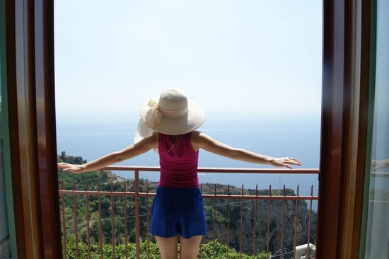 Locanda Ripa delle Janare: Прекрасный вид на море!