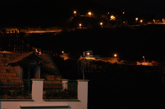 Locanda Ripa delle Janare: Ночной вид с нашего балкона