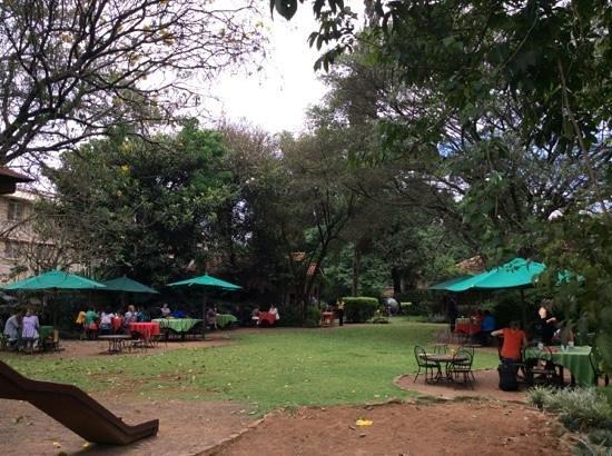 Amani ya Juu: The garden café