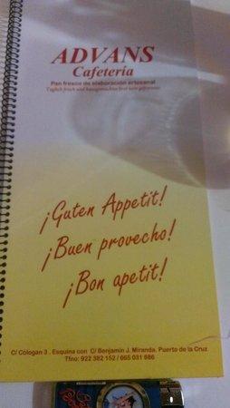 Advans Cafeteria-Panederia