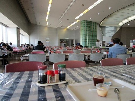Fukuoka City Hall Main building Employee Dining: 食堂内部
