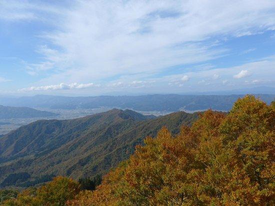 Hakkaisan : 展望台からの眺め