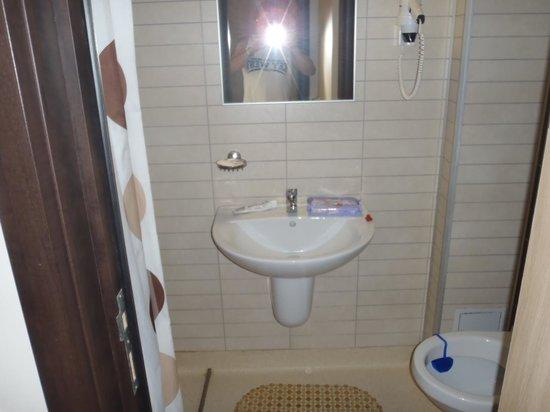 Hotel Flora : toilette