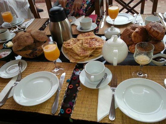 Riad Oasissime : le petit déjeuner