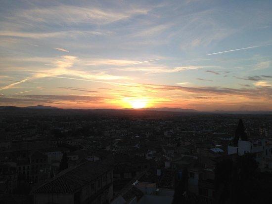 Carmen de la Alcubilla del Caracol: View from room terrace