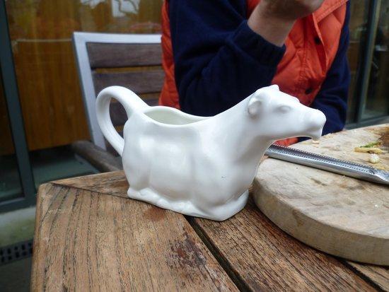The Bishop's Table : milk jug,