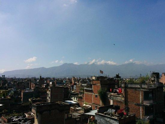 Hotel Nepalaya : Rooftop-Restaurant