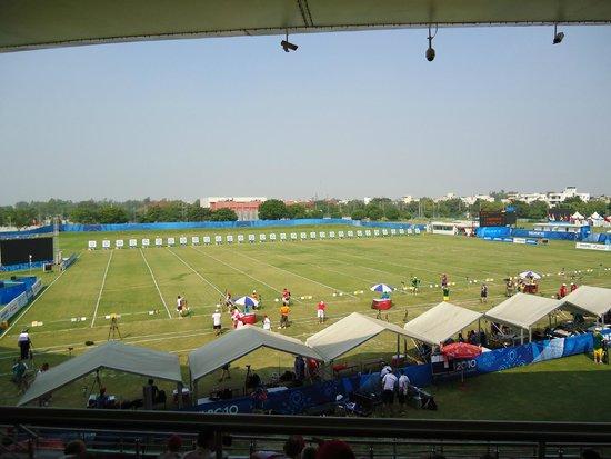 Venue For Archery Competition Picture Of Yamuna Sports Complex New Delhi Tripadvisor