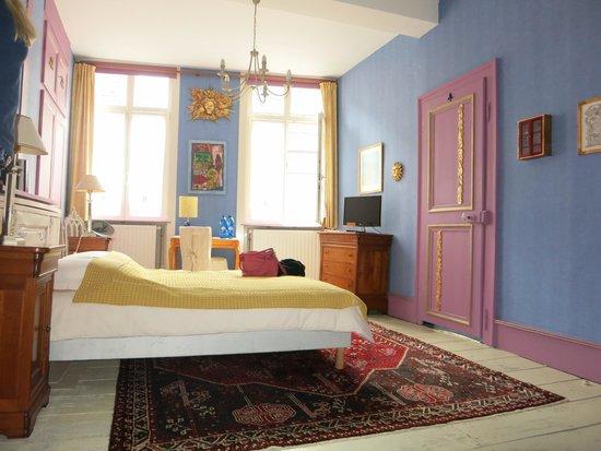 Le Soleil du Lion chambre d'hôtes : Das Schlafgemach
