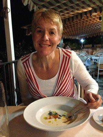 Carmen de San Miguel: Great soup, really tasty