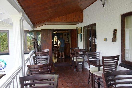 St. Lucia Wetlands Guesthouse: Frühstücksbereich