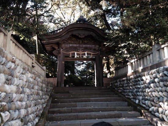 Oyama Shrine : Entrada do Templo