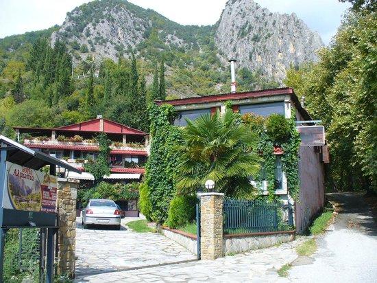 Loutraki, Grécia: Hotel Almopia