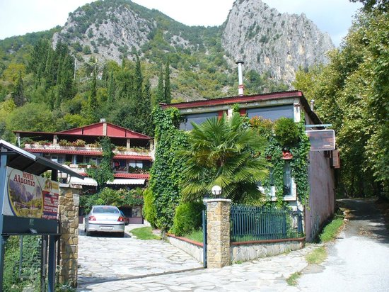 Loutraki, กรีซ: Hotel Almopia