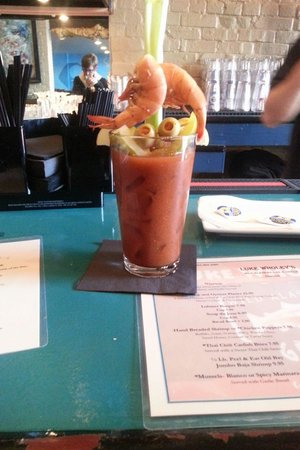 The best bloody mary ever!