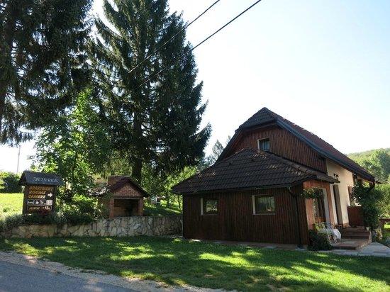 Villa Jezerka: A pousada