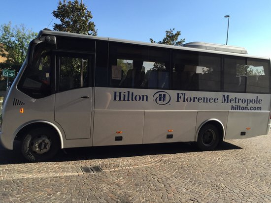 Hilton Florence Metropole : Reliable shuttle