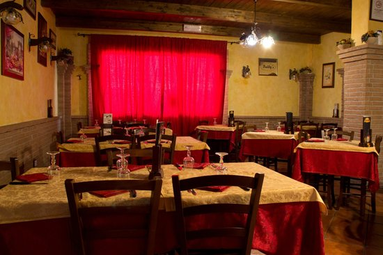 Ristorante Pizzeria Baddy's: sala interna