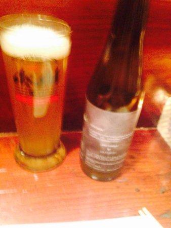 Yatai Izakaya: Yatai's own wheat beer! Nothing like it.