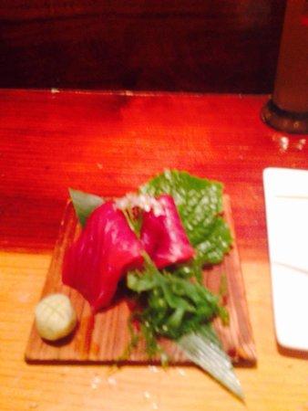 Yatai Izakaya: Tuna sashimi.