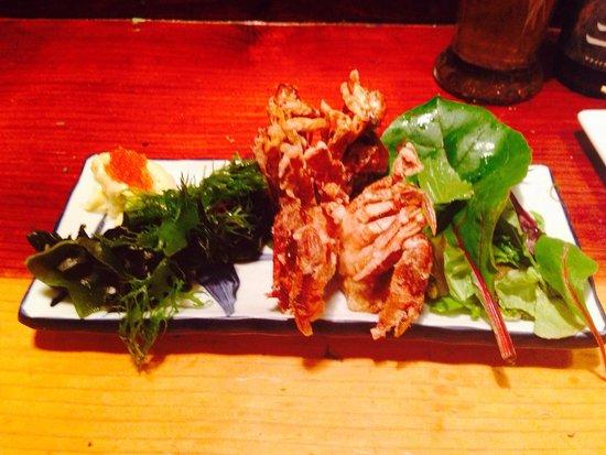 Yatai Izakaya: Deep fried soft shell crab