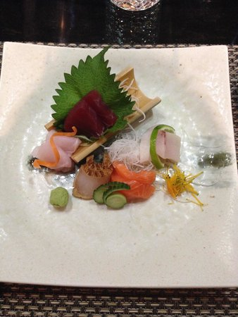 Ten Japanese Restaurant: Sashimi was Super!