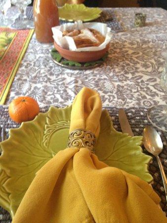 Littleton, MA: A beautiful table setting
